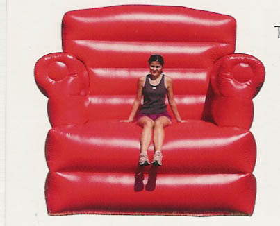big red chair - Designs of Distinction